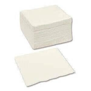 White 1Ply Lunch Napkin X 3000