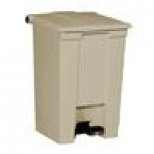 Step On Container 30Ltr Beige