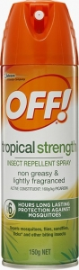 Off Tropical Strenth Insect Repellent Spray 150Gm 6 / Ctn