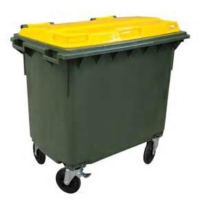 660 Ltr Four Wheeled Bin - Click for more info