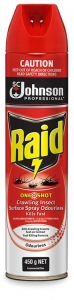 Raid Surface Spray 450gm x 12 - Click for more info