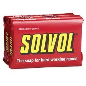 Solvol Industrial Pack X 100G Bar