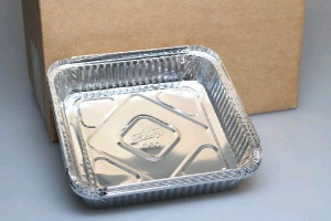 Large Foil Tray 200Pce - Click for more info