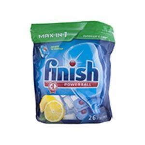 Finish Max In 1 Lemon Tablets 26 X 6