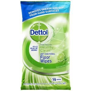 Dettol Wipes Lime & Mint (Floor&surface) 15'sx9