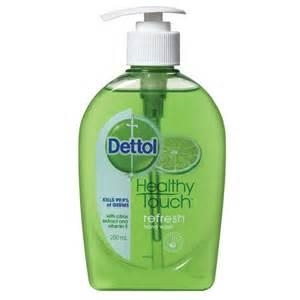 Dettol Antibac Refresh Lemon/Lime Pump 250Ml X 6 - Click for more info