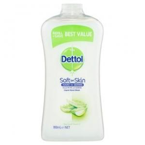 Dettol Lwh Aloe Vera & Vitamin Refill 950Ml Ctn/3 - Click for more info