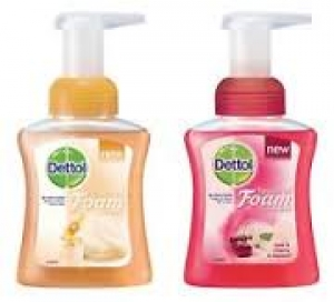 Dettol Foam Hand Wash Aloe 250Ml Pump X 6 - Click for more info
