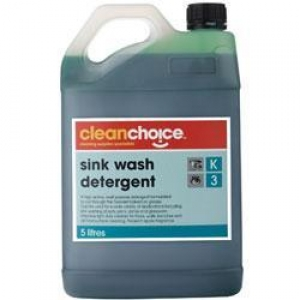 - **Use 029701** C/Choice Sink Detergent 5Lt - Click for more info