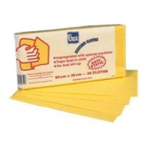 Replace with TWO10PKT Oil Impregnated Dusting Cloth 25/pac