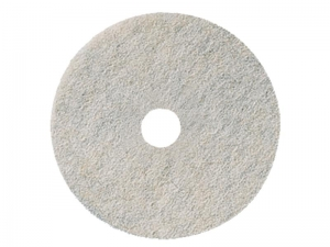 3M 3300 Natural Blend Burnishing Pads White 68cm Each - Click for more info