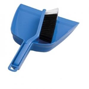 Oates Dustpan & Bannister Brush Set Blue