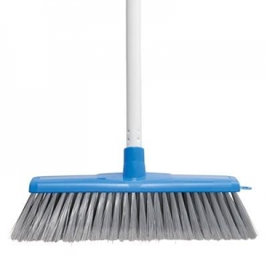 Oates Classic Plus Indoor Broom Complete Blue - Click for more info
