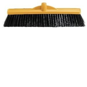 Oates 450Mm Med Stiff Poly Broom Yellow Head Only - Click for more info