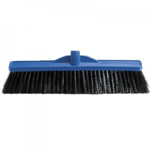 450Mm Industrial Extra Stiff Poly Broom Blue - Head Only