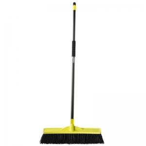 450Mm M/Stiff Tradesman Broom W/Handle