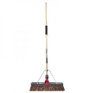 Oates TITANIUM 450mm Natural Fibre Broom