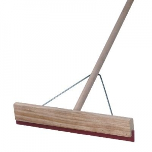 450Mm Wooden Back Squeegee - Handled - Click for more info