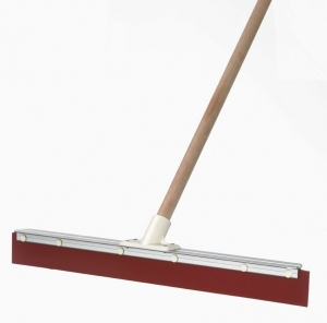 600Mm Red Rubber Squeegee Handled - Click for more info