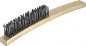 Oates Extra Stiff Wire Brush 4 Row - Click for more info