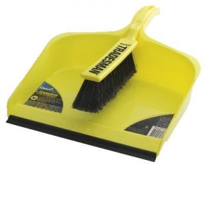 Large Tradesman Dust Pan & Brush Set - Click for more info
