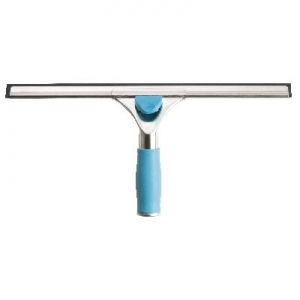35cm Glass Master Deluxe Squeegee with S/S Channel & Grip - Click for more info