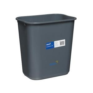 28Ltr Desk Bin - Grey - Click for more info