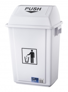 Flip Bin White - 30 Ltr - Click for more info