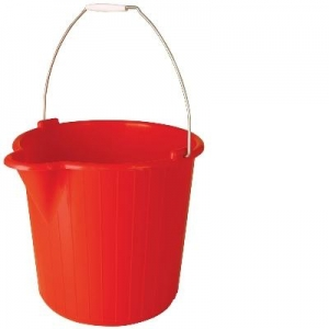 Oates Duraclean Super Bucket 12Ltr Red