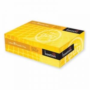 Bastion Glove Latex P/Free Small 100/Pack X 10 Packs