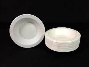 7' Genfac White Bowl Ctn/500
