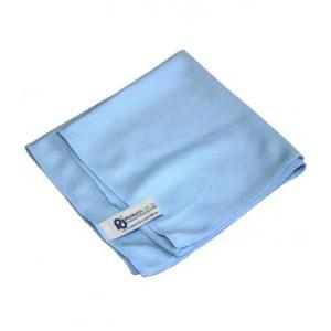 Cloth Microfibre Pj Light Blue (Glass) Pkt 6 - Click for more info