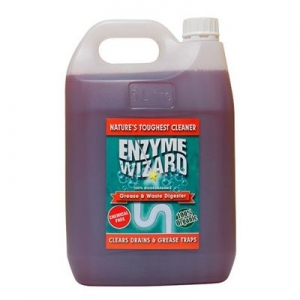 Enzyme Wizard Grease & Waste Digester (Drain Cleaner) 5L - Click for more info