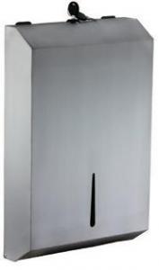 Stainless Steel Slimline Dispenser - Click for more info