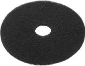Oates Black Heavy Duty Strip Floor Pad 33Cm