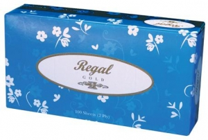 Regal Facial Tissue 2 Ply 100 Sheet 48 Boxes - Click for more info