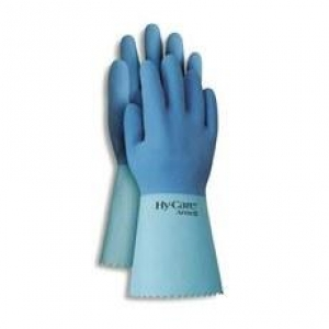 Ansell Hycare Latex Blue - Size 10 Pkt/12 - Click for more info