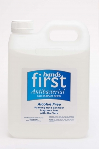 Hands First Alcohol Free Sanitiser 2ltr Refill - Click for more info