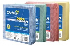 Oates Duraclean Wiper, Blue, 20/Pack X 5, 600X450Mm
