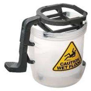 Oates Duraclean Apc All Plastic Bucket Clear 15Ltr