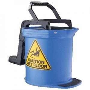 Duraclean Ultra Roller Wringer Bucket 16Lt Blue