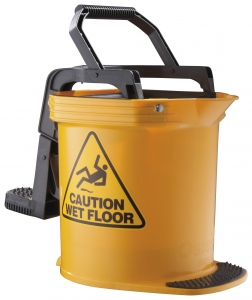 Iw-015Y Duraclean Ultra Wide Mouth Bucket Yellow - Click for more info