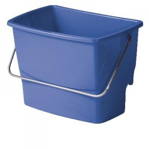 Ezy Ergo Side Bucket Rectangle 7lt Blue - Click for more info