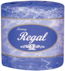 Regal Luxury Toilet Roll 2 ply 400 sheet x 48 rolls - Click for more info