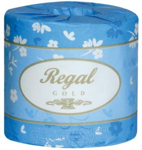 Regal Gold Toilet Roll 2 Ply 400 Sheet 48 Rolls