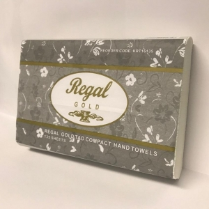 Regal Gold TAD Compact Hand Towel 135 sheet 16 packs - Click for more info