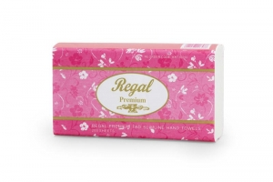 Regal Premium TAD Slim Hand Towel 200 sheet 16 packs - Click for more info