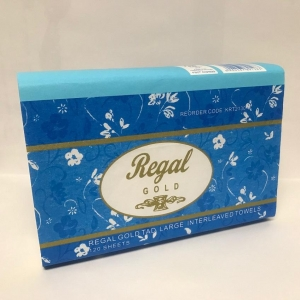 Regal Gold Tad Interleaved Hand Towel 120 Sheet 20 Packs - Click for more info