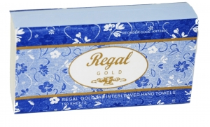 Regal Gold TAD Interleaved Hand Towel 150 sheet x 16 packs - Click for more info