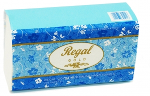 Regal Gold Tad Slim Hand Towel 200 Sheet 16 Packs - Click for more info